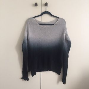 RARE Brandy Melville Ombré Blue Sweater
